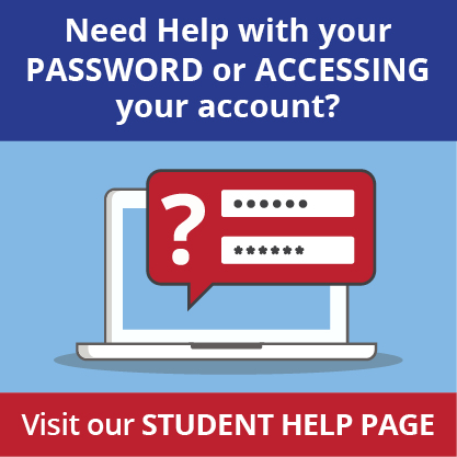 Need help with student account?